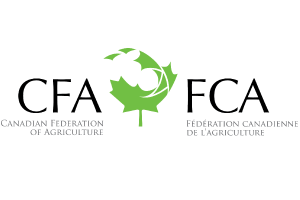 Logo for Canadian Federation of Agriculture
